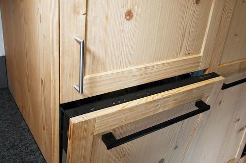küche mit massivholzfronten